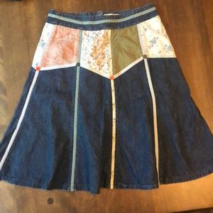 Bica chia quilt skirt - Anthropologie